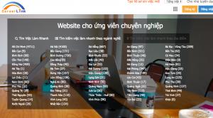 Website top 1 việc làm Careerlink